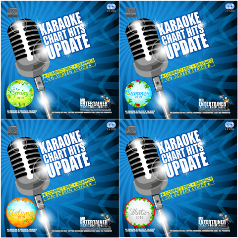 Mr Entertainer Karaoke Chart Hits Update 2019 Mega Bundle