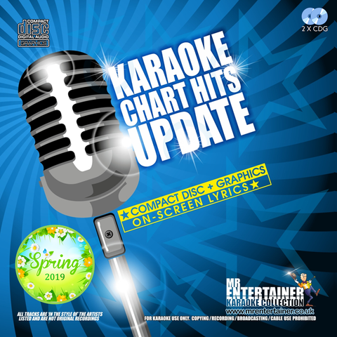 Mr Entertainer Karaoke Chart Hits Update - Spring 2019