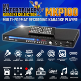 Mr Entertainer MKP100 Karaoke Player. Ultimate Package (1300 Songs)