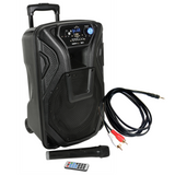 "Karaoke Speaker & Wireless Mic Package - 10"" Speaker 60W"