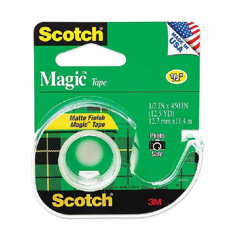 "Scotch® 104A Magic Transparent Tape 1/2"" X 450"" - 1HomeShop.sg"