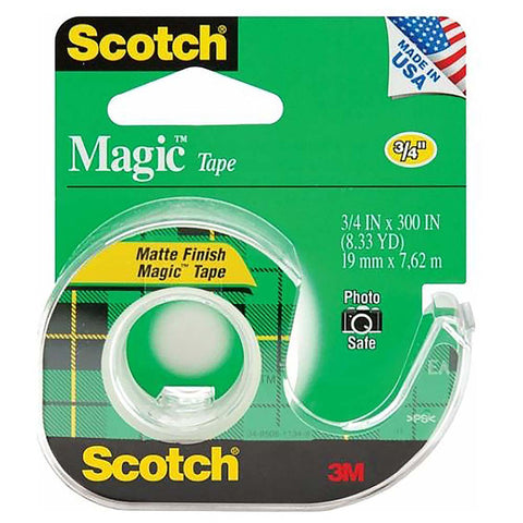 "Scotch® 105 Magic Transparent Tape, 3/4"" x 300"" Refill DSP - 1HomeShop.sg"