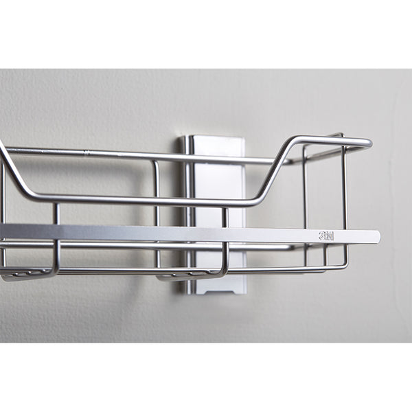 Command™ 17674B Stainless Steel Shower Caddy - 1HomeShop.sg