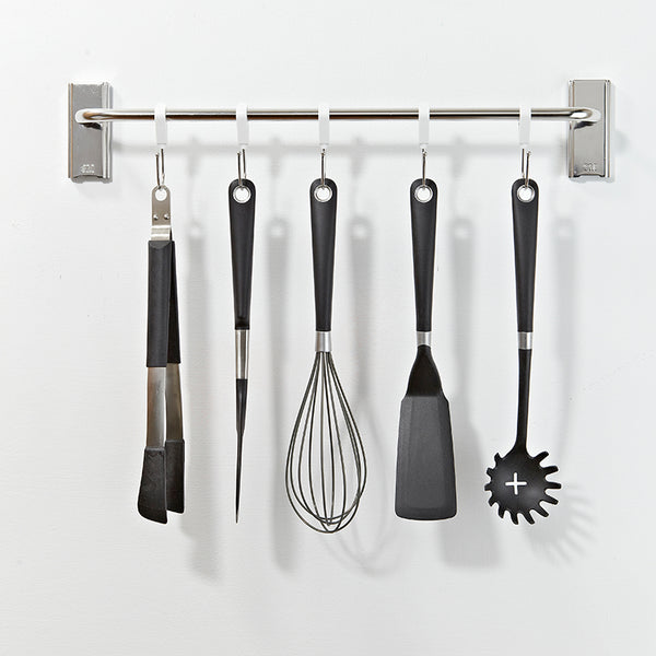 Command™ 17676B Stainless Steel Utensil/Utility Hooks Bar - 1HomeShop.sg
