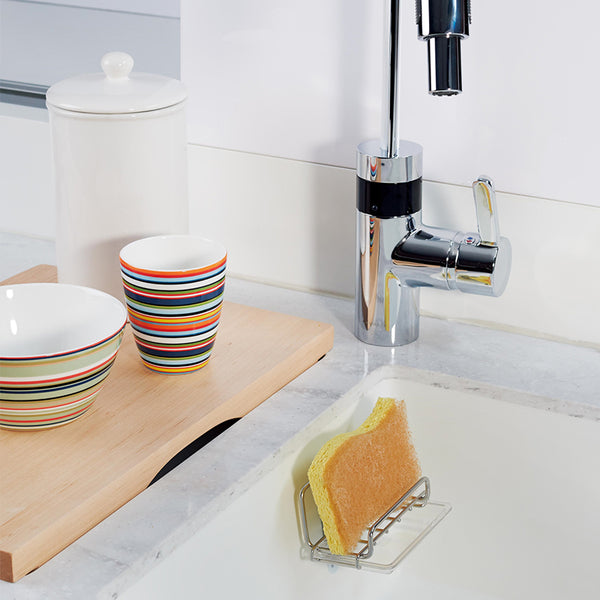 Command™ 17679B Stainless Steel Sponge Holder - 1HomeShop.sg
