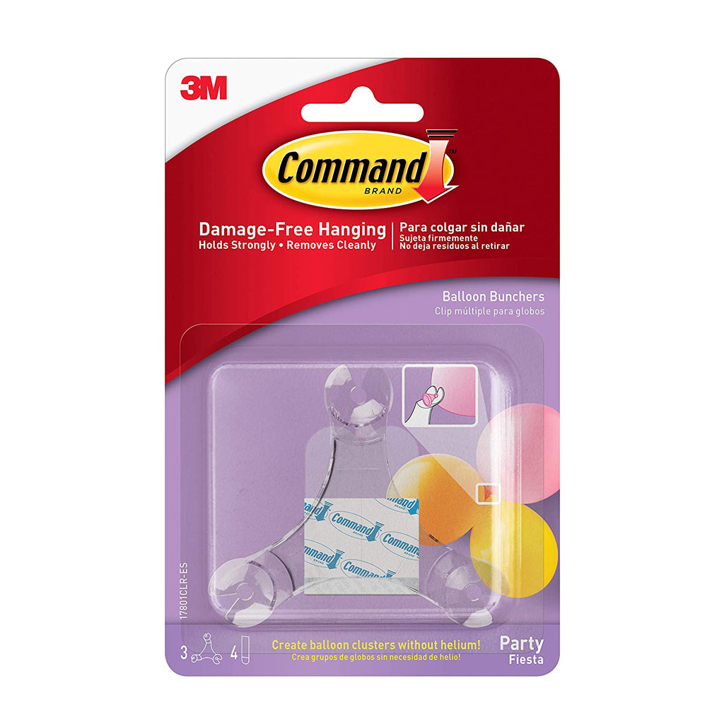 Command™ 17801CLR Party Balloon Bunchers - 1HomeShop.sg