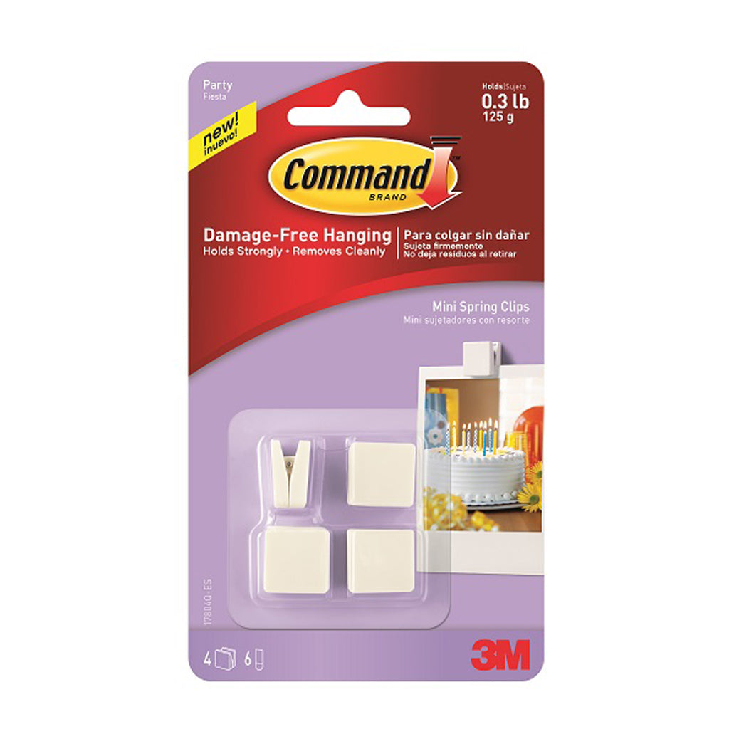 Command™ 17804Q Party Mini Spring Clips - 1HomeShop.sg