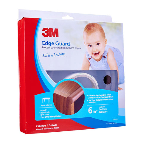 33009 Edge Guard 2m (Brown) - 1HomeShop.sg