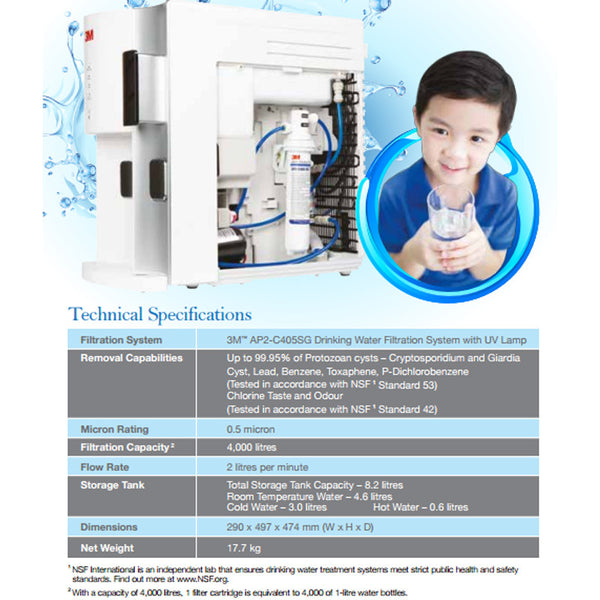 HCD2 Hot Cold Room Temperature Table Top Water Dispenser - 1HomeShop.sg
