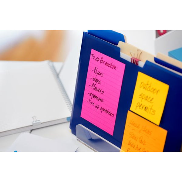 "Post-it® 4621-SSAU Lined Super Sticky Notes, 4X6"" - 1HomeShop.sg"