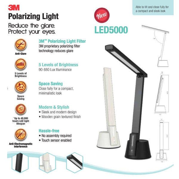 LED 5000 Polarizing Task Light - 1HomeShop.sg