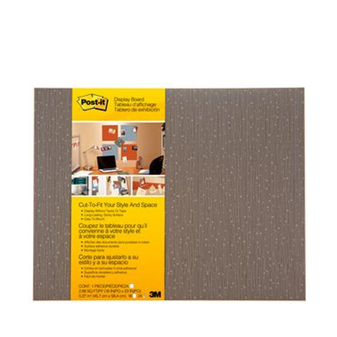 "Post-it® 558F-MCH Cut-to-Fit Display Board Mocha, 18x23"" - 1HomeShop.sg"