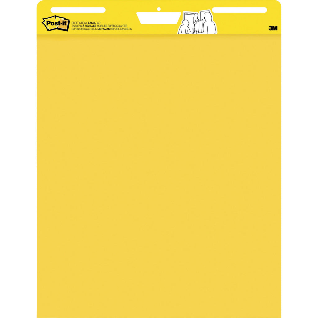 "Post-it® 559YWSS Easel Pad Yellow, 25x30"" - 1HomeShop.sg"
