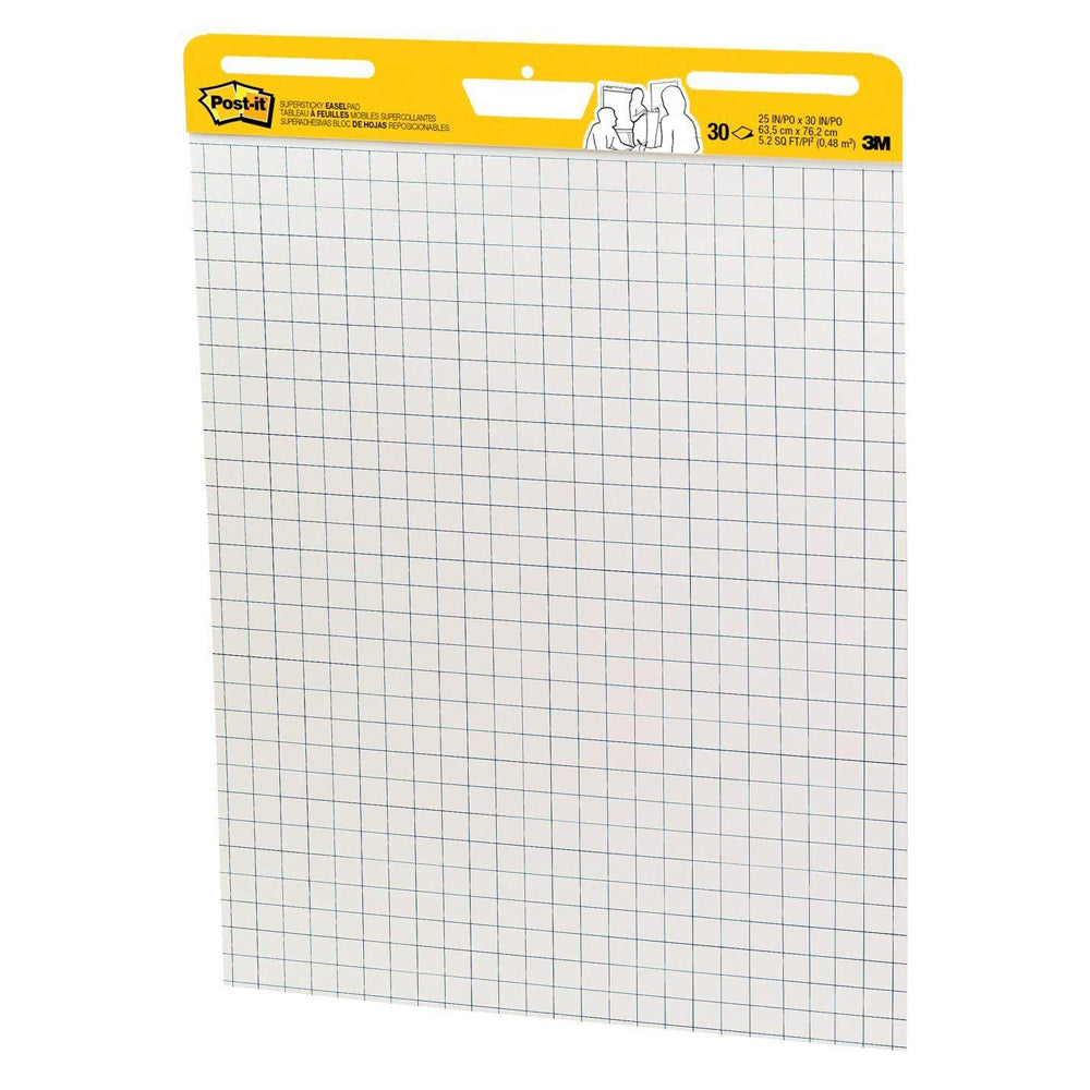 "Post-it® 560SS Easel Pad Grid Version White, 25x30"" - 1HomeShop.sg"