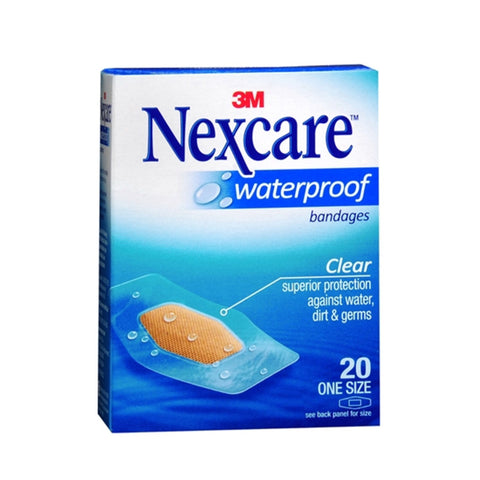 Nexcare™ 586-20PB Waterproof Bandages 20s - 1HomeShop.sg