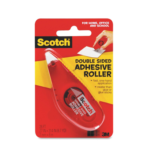Scotch® 6061 Double Sided Adhesive Roller - 1HomeShop.sg