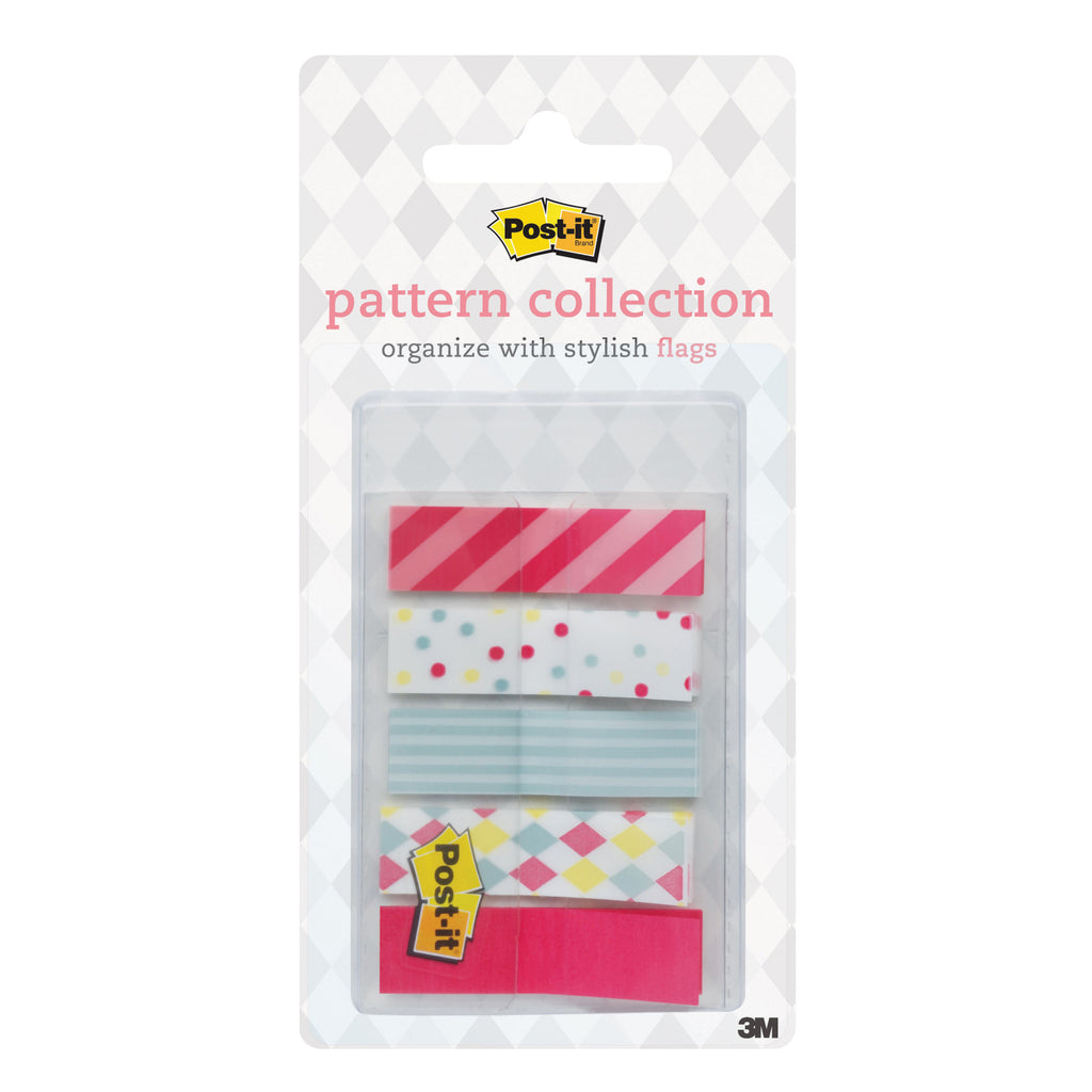 "Post-it® 684-Candy Patterned Flag, 0.47x1.7"" - 1HomeShop.sg"
