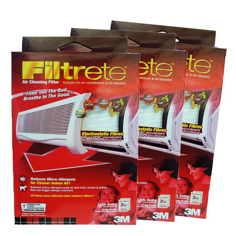 Filtrete™ 9808-2 Aircon Filter 30x60cm (Bundle of 3) - 1HomeShop.sg