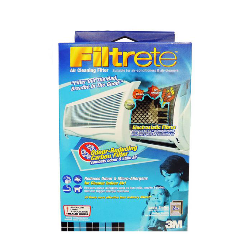 Filtrete™ 9808-2C Aircon Odour Reducing Carbon Filter 30x60cm - 1HomeShop.sg