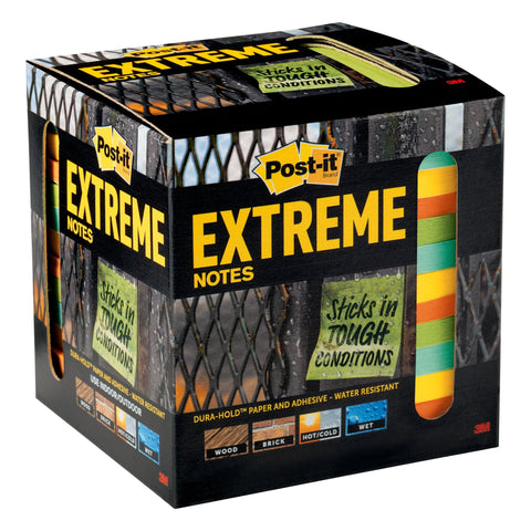 Post-it® EXTRM33-12TRYX Extreme Notes, 12 pads - 1HomeShop.sg