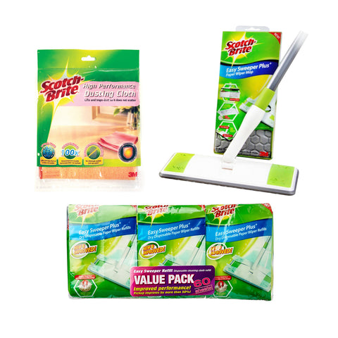 3M Home Cleaning Essentials Pack - 1HomeShop.sg
