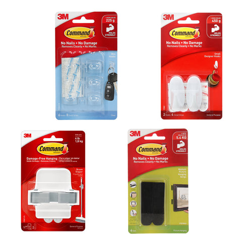 3M Home Organizing Essentials Pack - 1HomeShop.sg