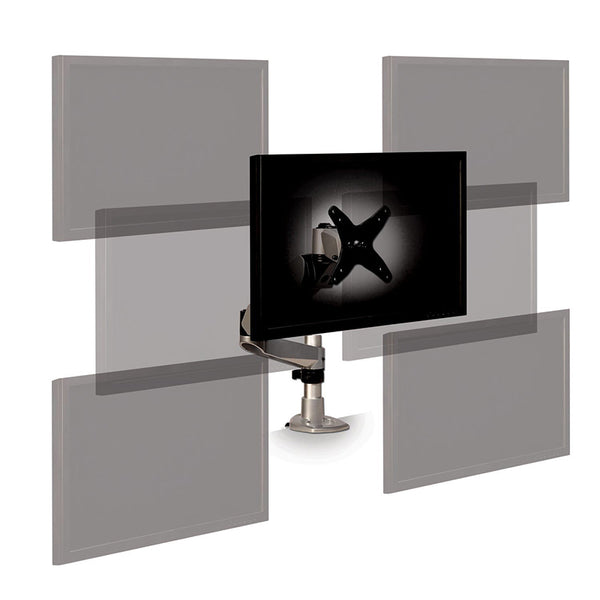 MA245S Easy-Adjust Monitor Arm, Silver - 1HomeShop.sg
