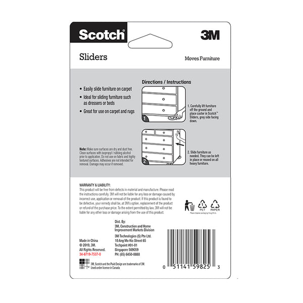 Scotch™ SP-19C Slider Circles, 19mm - 1HomeShop.sg