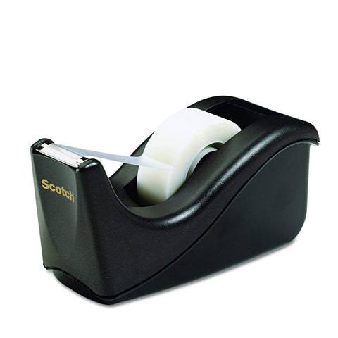 Scotch® C-60 Desktop Tape Dispenser, Black - 1HomeShop.sg