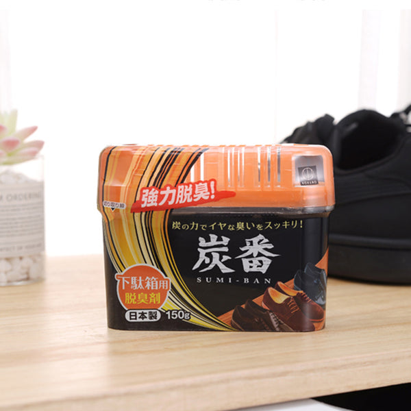 Sumi-Ban Charcoal Shoe Shelf Deodorizer 150g - 1HomeShop.sg