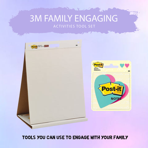 3M Family Engaging Activities Tool Kit - 1HomeShop.sg
