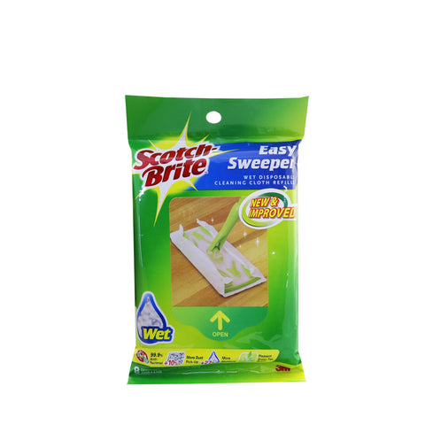 Scotch-Brite® Q600RW-E Easy Sweeper Wet Sheets Refill - 1HomeShop.sg