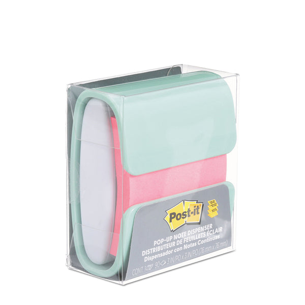 Post-it® WD-330-COL-PW Pop-Up Note Dispenser - 1HomeShop.sg