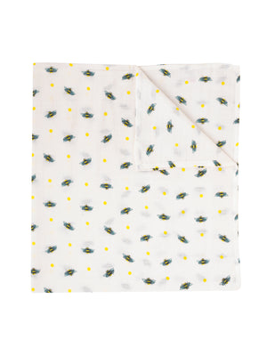 Swaddle Cloth, Bumble Bee Print