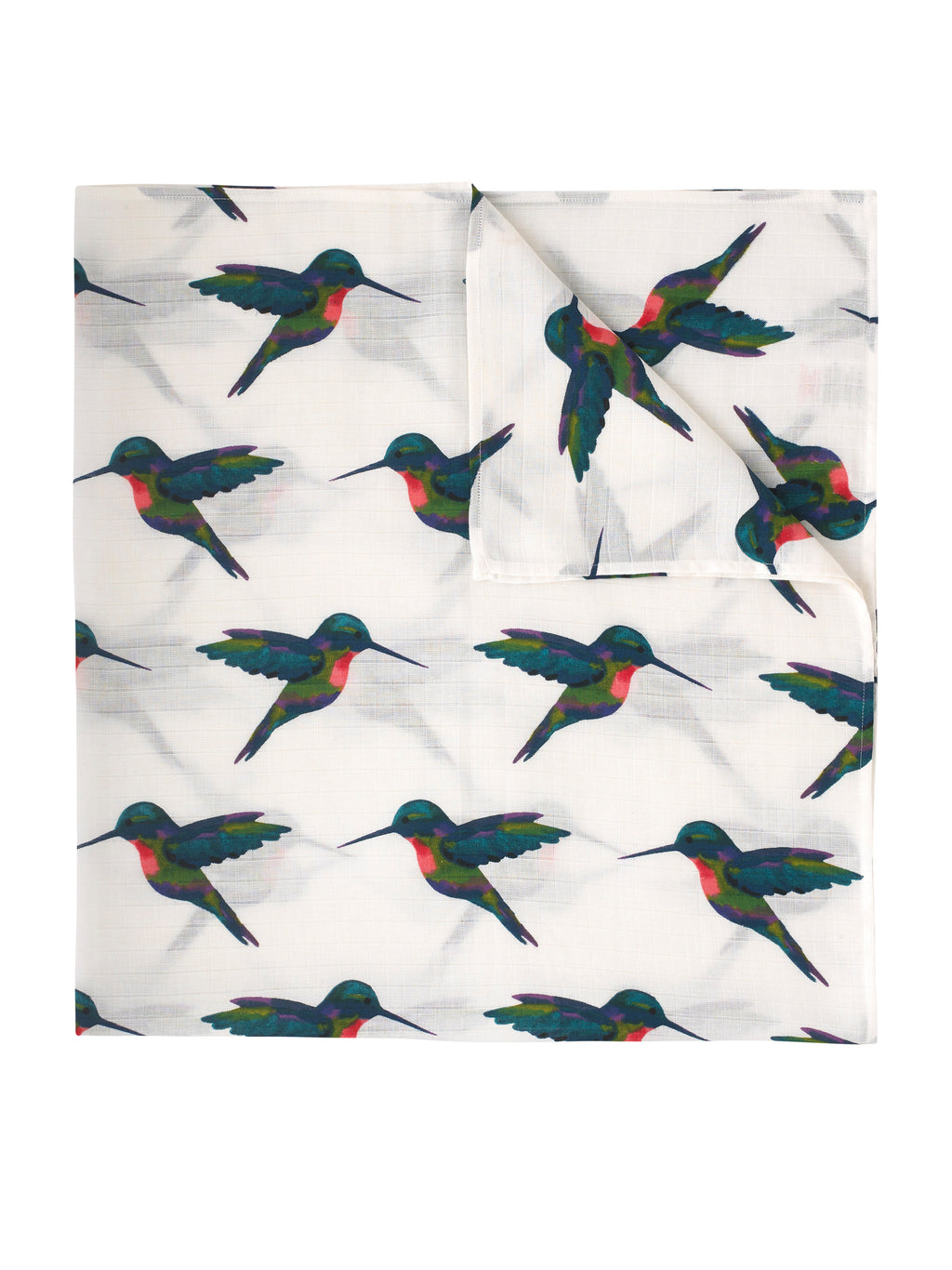 Swaddle Cloth, Hummingbird Print