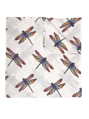 Swaddle Cloth, Dragonfly Print