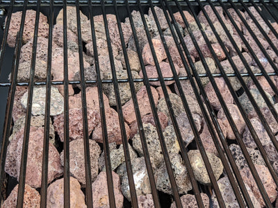 How to convert a gas BBQ / grill to Lava Rocks