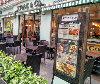Black Rock Grill is now available at Steak & Co, London!