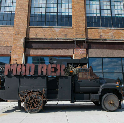 Check out the world's first post-apocalyptic restaurant