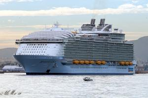 "World biggest cruise liner ""Harmony of The Seas"" sets sails with Black Rock Grill"