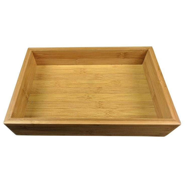 Black Rock Grill Bamboo food presentation tray