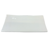 Black Rock Grill GP-9 White Porcelain Side Plate- Case of 6