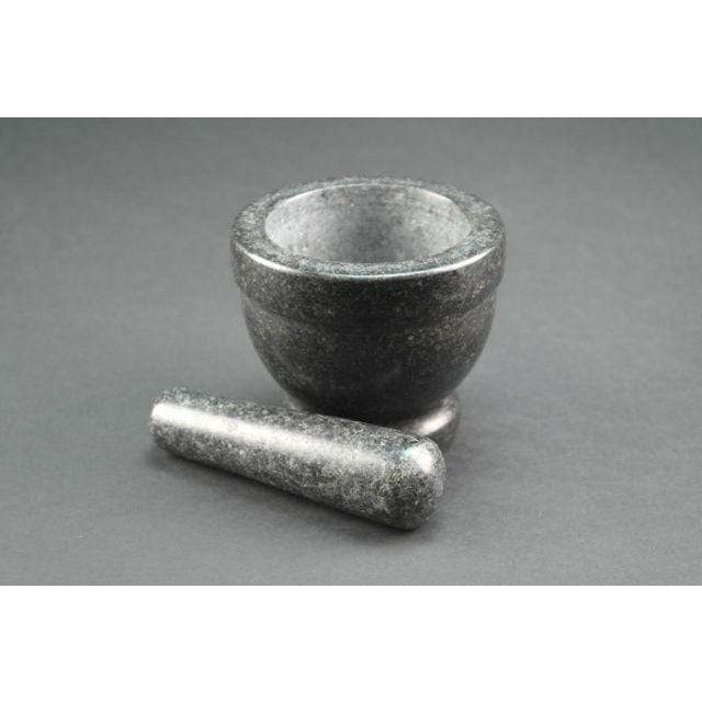 Black Rock Grill Granite Mortar and Pestle Set