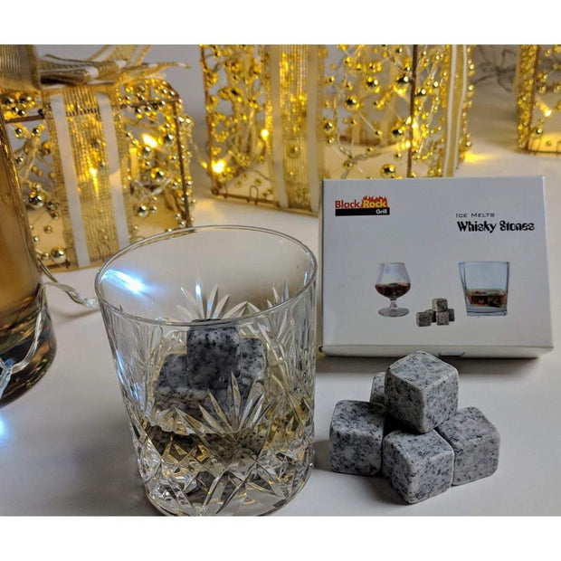 Black Rock Grill Granite Whisky Stones, Set of 9