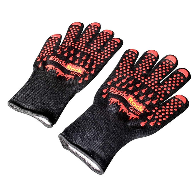 Black Rock Grill Heat Resistant Oven Gloves 500°C / 932°F