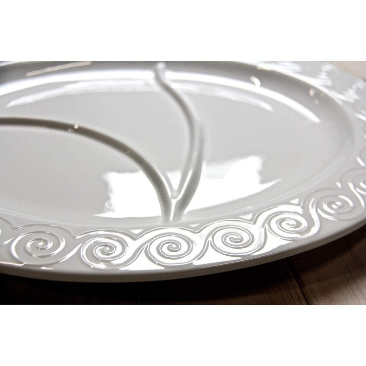 Black Rock Grill Large  Serving Plate - diameter 14½in / 37cm