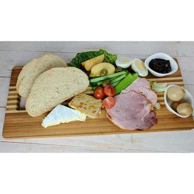 Black Rock Grill Large Wooden Paddle Serving Board