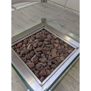 Black Rock Grill Lava Rocks, 4-10cm / 40mm- 100mm