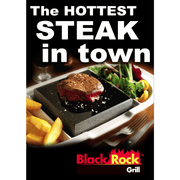 Black Rock Grill Posters for restaurants - A2 Black Rock Grill posters- Pack of 3