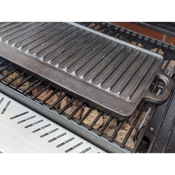 Black Rock Grill Reversible Cast Iron Griddle